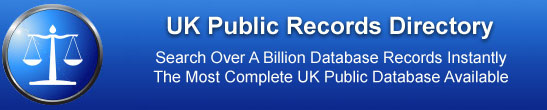 Government Public Records Database